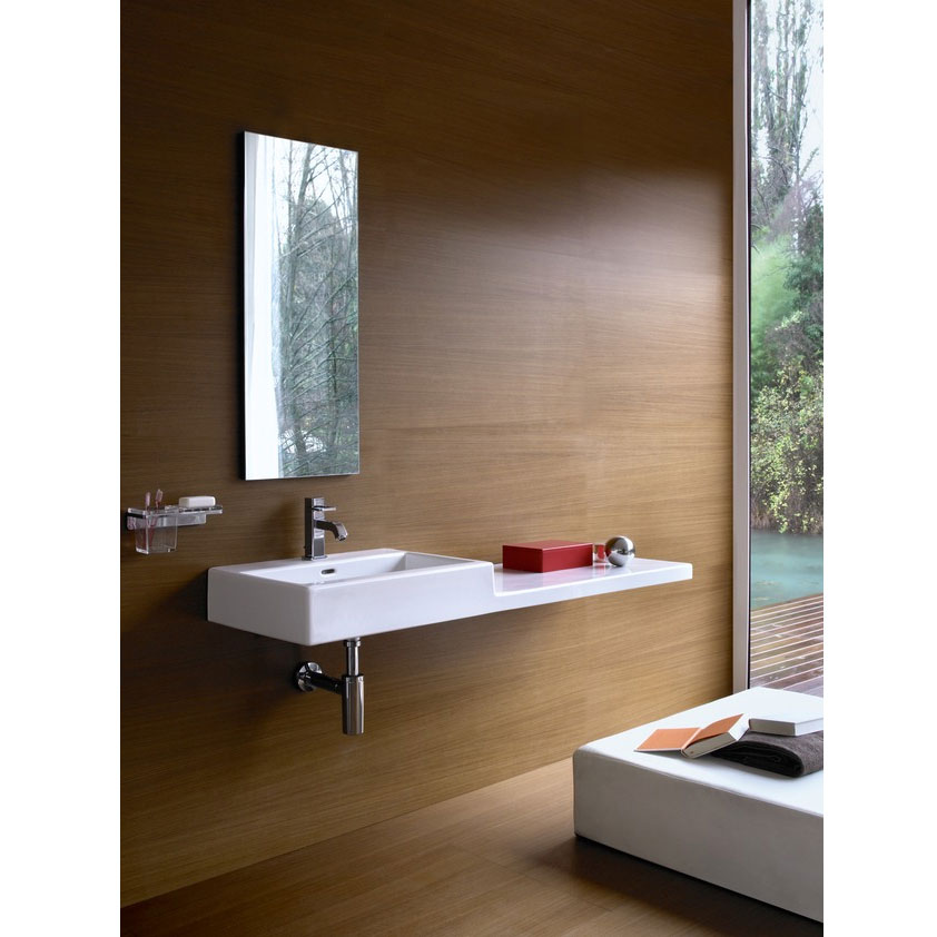 Laufen - Living City 1 Tap Hole 1000mm Basin with Shelf - Left or Right Hand Option Feature Large Image