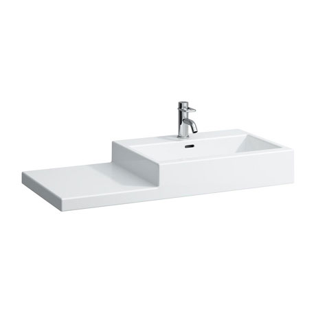 Laufen - Living City 1 Tap Hole 1000mm Basin with Shelf - Left or Right Hand Option