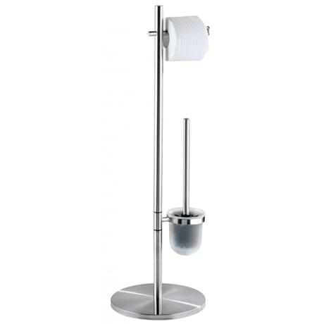Wenko Pieno Standing WC Set - Stainless Steel - 18452100
