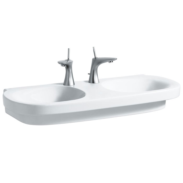Laufen - Mimo 1000mm Double Basin - 18553 profile large image view 1