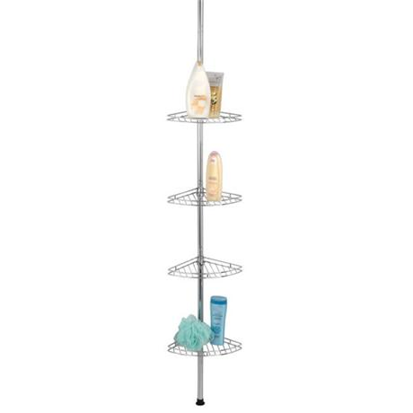 Wenko Prea Telescopic Corner Rack - Stainless Steel - 18596100