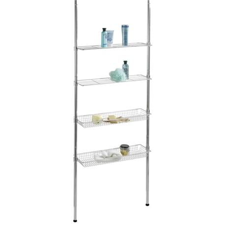 Wenko Ellera Telescopic Rack - Chrome - 18597100