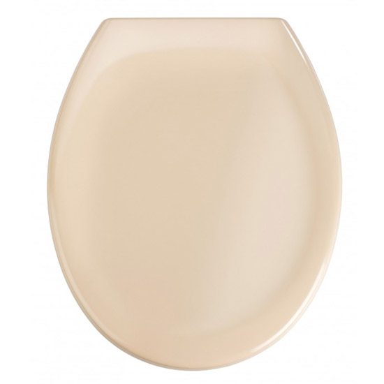 Wenko Ottana Premium Soft Close Toilet Seat - Beige - 18760100 profile large image view 1