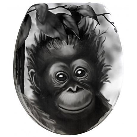 Wenko Monkey Duroplast Toilet Seat - 18796100