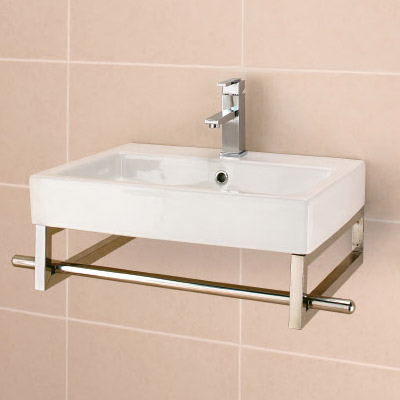 500 maggiore slim stainless steel frame for pisa 500 slimline basin 188038 at victorian - Slim cloakroom basin ...
