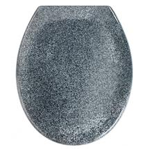 Wenko Ottana Premium Soft Close Toilet Seat - Granite - 18902100 Medium Image