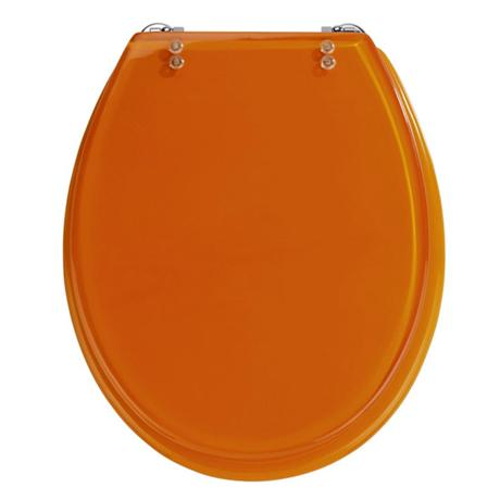 Phenomenal Wenko Topic Hand Made Polyresin Toilet Seat Orange Beatyapartments Chair Design Images Beatyapartmentscom