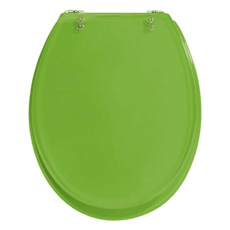 Incredible Wenko Topic Hand Made Polyresin Toilet Seat Green Beatyapartments Chair Design Images Beatyapartmentscom