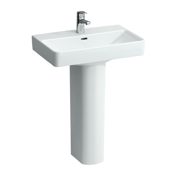 Laufen - Pro 1 Tap Hole Basin - 5 x Size Options Standard Large Image