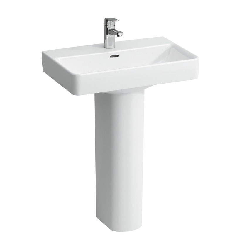 Laufen - Pro S 1 Tap Hole Compact Basin - 2 x Size Options Profile Large Image