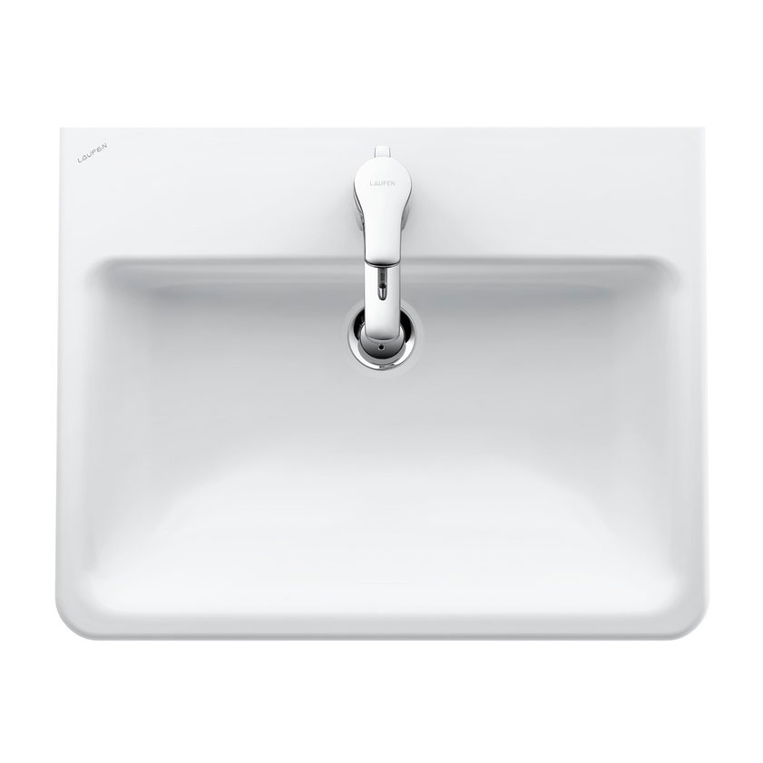 Laufen - Pro S 1 Tap Hole 560mm Inset Basin - 18963 Large Image