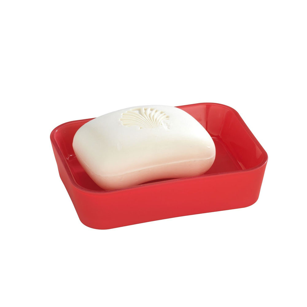 Wenko Rainbow Soap Dish - Red - 18981100 Large Image