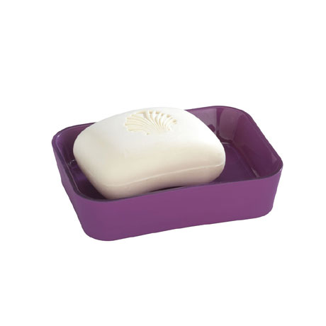 Wenko Rainbow Soap Dish - Purple - 18982100