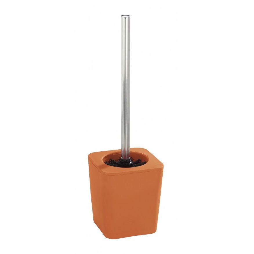 Wenko Rainbow Toilet Brush Set - Orange - 18985100 profile large image view 1
