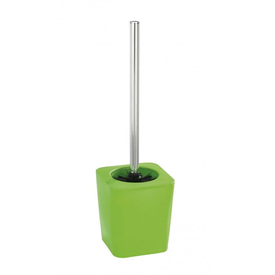 Wenko Rainbow Toilet Brush Set - Green - 18987100 Large Image