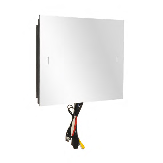"19"" Advanced Waterproof Bathroom Mirror TV profile large image view 3"