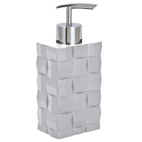 Wenko Relief White Soap Dispenser - 19423100