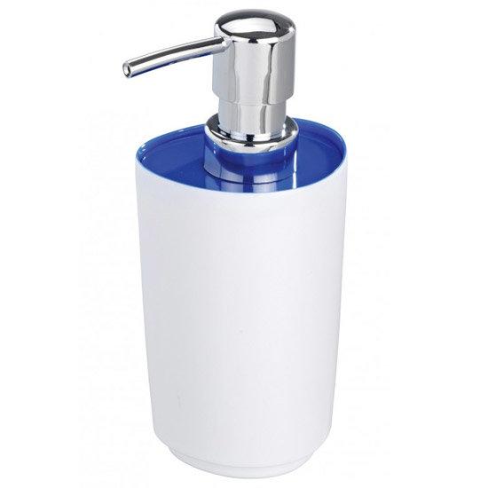 Wenko Alcamo Blue Soap Dispenser - 19458100 Large Image