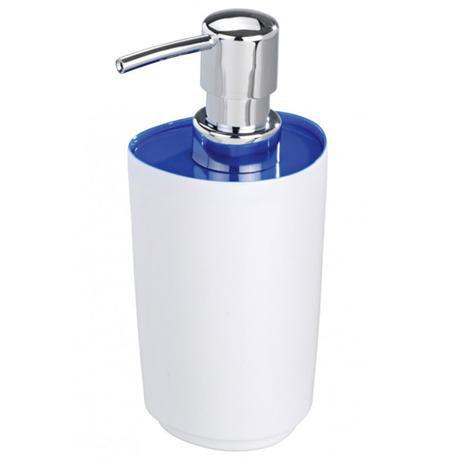 Wenko Alcamo Blue Soap Dispenser - 19458100