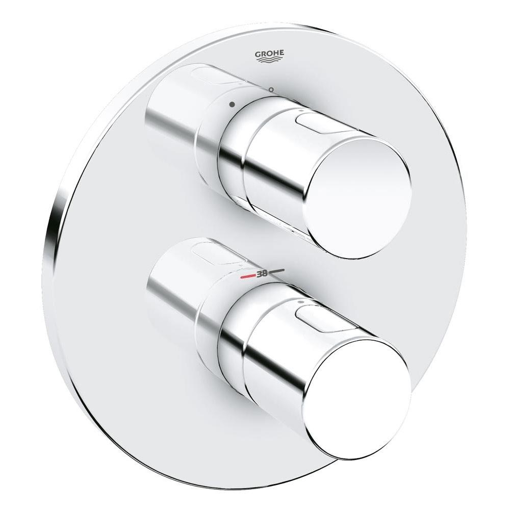 Grohe Grohtherm 3000 Cosmopolitan Thermostatic Shower Mixer Trim - 19467000 Large Image