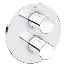 Grohe Grohtherm 3000 Cosmopolitan Thermostatic Shower Mixer Trim - 19467000 Medium Image