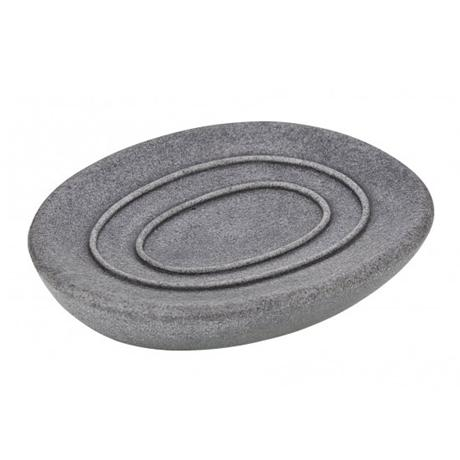 wenko pebble stone grey soap dish 19491100 at victorian plumbing uk. Black Bedroom Furniture Sets. Home Design Ideas