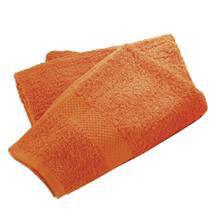 Wenko Terry Cotton Hand Towel - 500 x 1000mm - Orange - 19521100 Medium Image