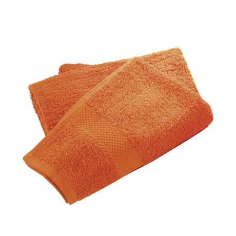 Wenko Terry Cotton Hand Towel - 500 x 1000mm - Orange - 19521100