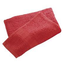 Wenko Terry Cotton Shower Towel - 700 x 1400mm - Red - 19527100 Medium Image