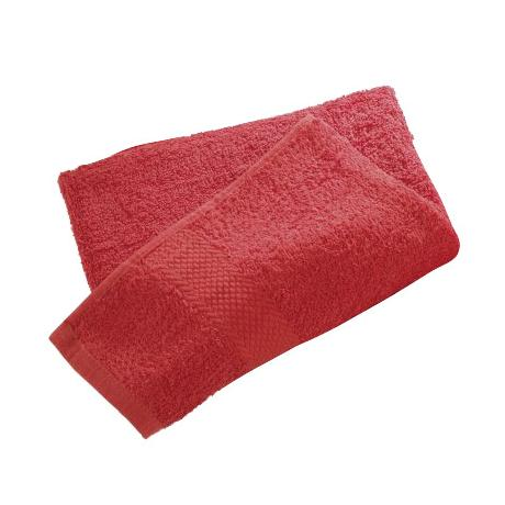 Wenko Terry Cotton Shower Towel - 700 x 1400mm - Red - 19527100