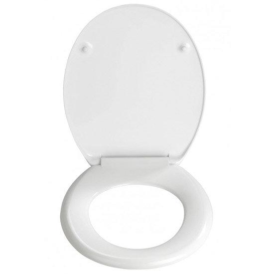 Wenko Aqua Duroplast Toilet Seat - 19548100 profile large image view 2