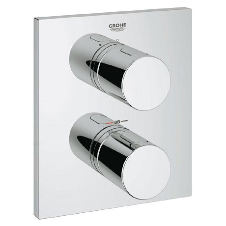 Grohe Grohtherm 3000 Cosmopolitan Thermostatic Shower Mixer Trim - Chrome - 19568000