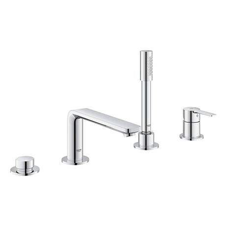 Grohe Lineare 4-Hole Single Lever Bath Combination - 19577001