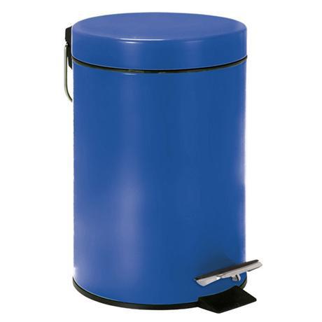 Wenko - 3 Litre Cosmetic Pedal Bin - Dark Blue - 19577100