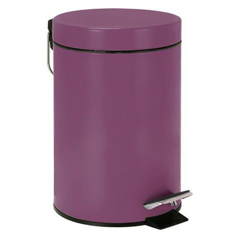 Wenko - 3 Litre Cosmetic Pedal Bin - Purple - 19578100
