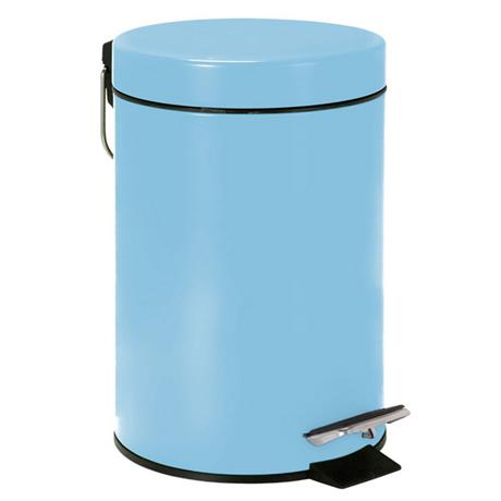 Wenko - 3 Litre Cosmetic Pedal Bin - Light Blue - 19579100