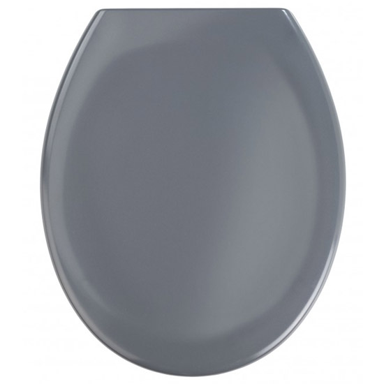 dark grey toilet seat. Wenko Ottana Premium Soft Close Toilet Seat  Dark Grey 19657100 at Victorian Plumbing UK
