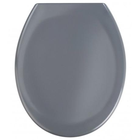 Wenko Ottana Premium Soft Close Toilet Seat - Dark Grey - 19657100