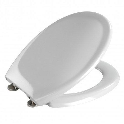 Wenko Ottana Premium Soft Close Toilet Seat - Grey - 19660100 Feature Large Image
