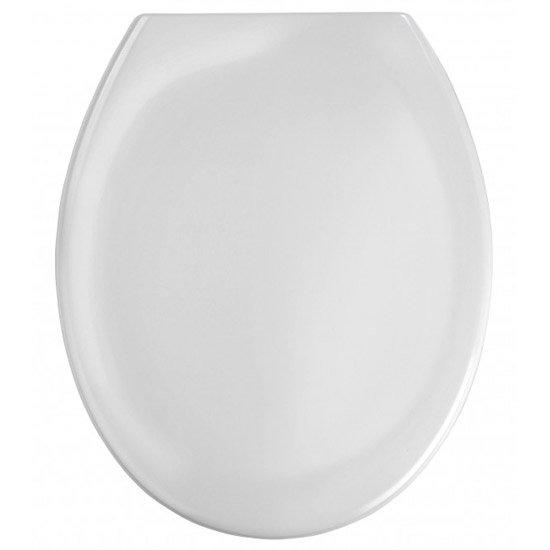 Wenko Ottana Premium Soft Close Toilet Seat - Grey - 19660100 Large Image