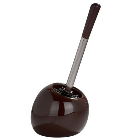 Wenko Polaris Ceramic Toilet Brush & Holder - Brown - 19706100