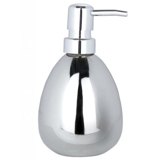 Wenko Polaris Ceramic Soap Dispenser - Chrome - 19892100 Large Image