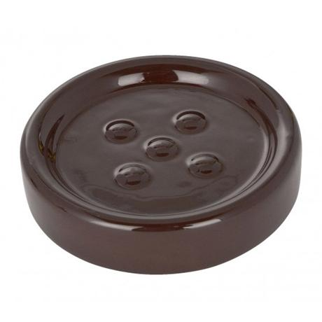 Wenko Polaris Ceramic Soap Dish - Brown - 19952100