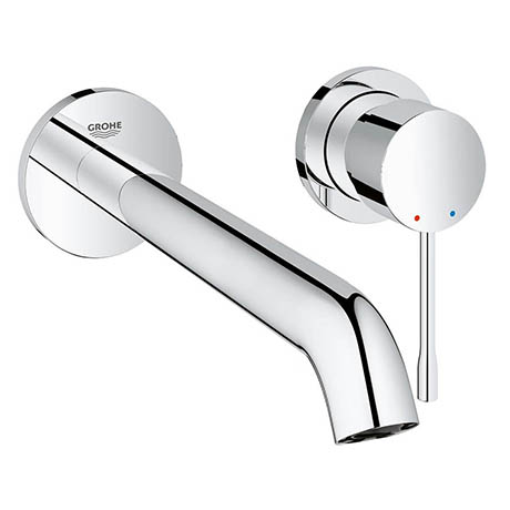 Grohe Essence Wall Mounted 2 Hole Basin Mixer L-Size - Chrome - 19967001