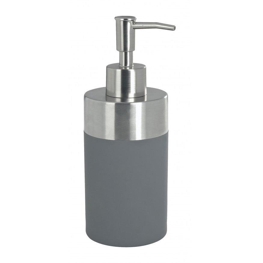 Wenko Creta Soap Dispenser - Grey - 19975100 Large Image