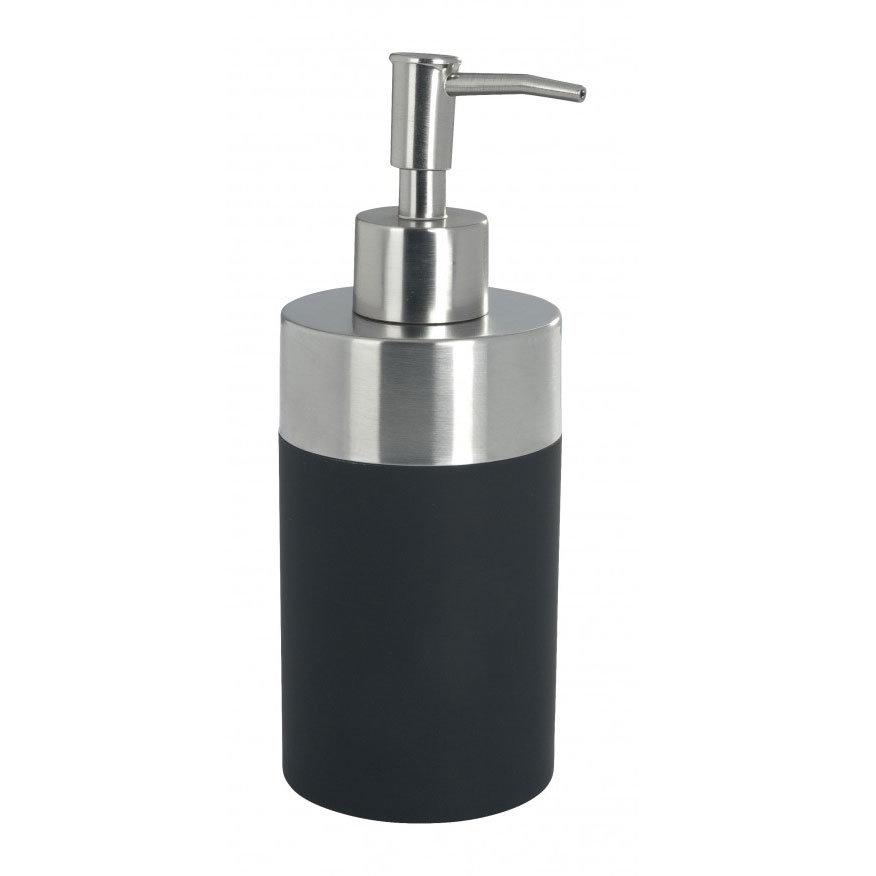 Wenko Creta Soap Dispenser - Black - 19977100 Large Image
