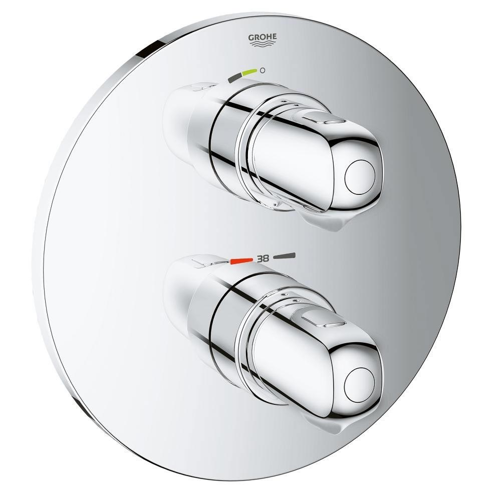 Grohe Grohtherm 1000 Thermostatic Shower Mixer Trim - 19984000 Large Image