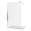 Mira Elevate Wetroom Divider Panel profile small image view 1