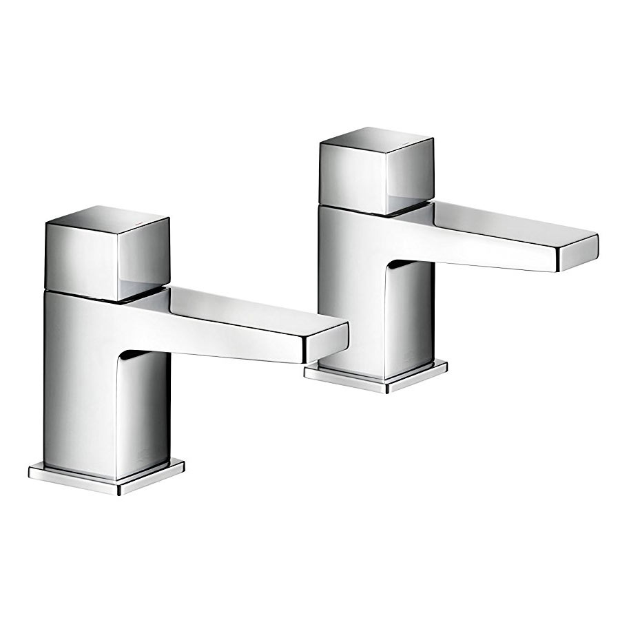 Mira Honesty Bath Pillar Taps - 2.1815.003