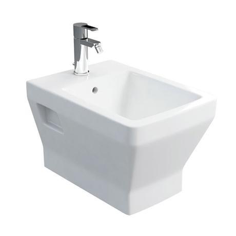 Britton Bathrooms - Cube S20 Wall Hung Bidet - 20.1951